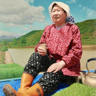 福島の母-希望の苗